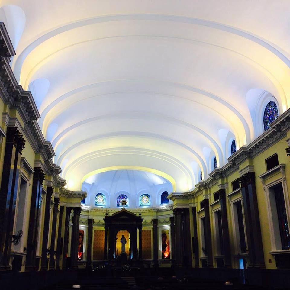 Igreja São Luiz. São Paulo/Br