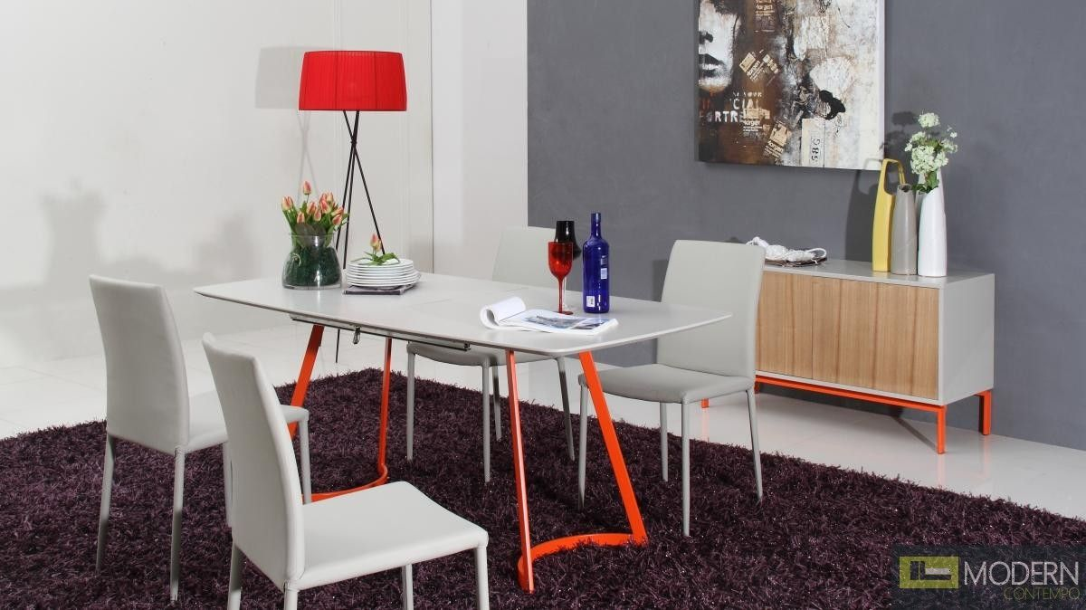 Lacquer tabletop u orange legs for the home pinterest