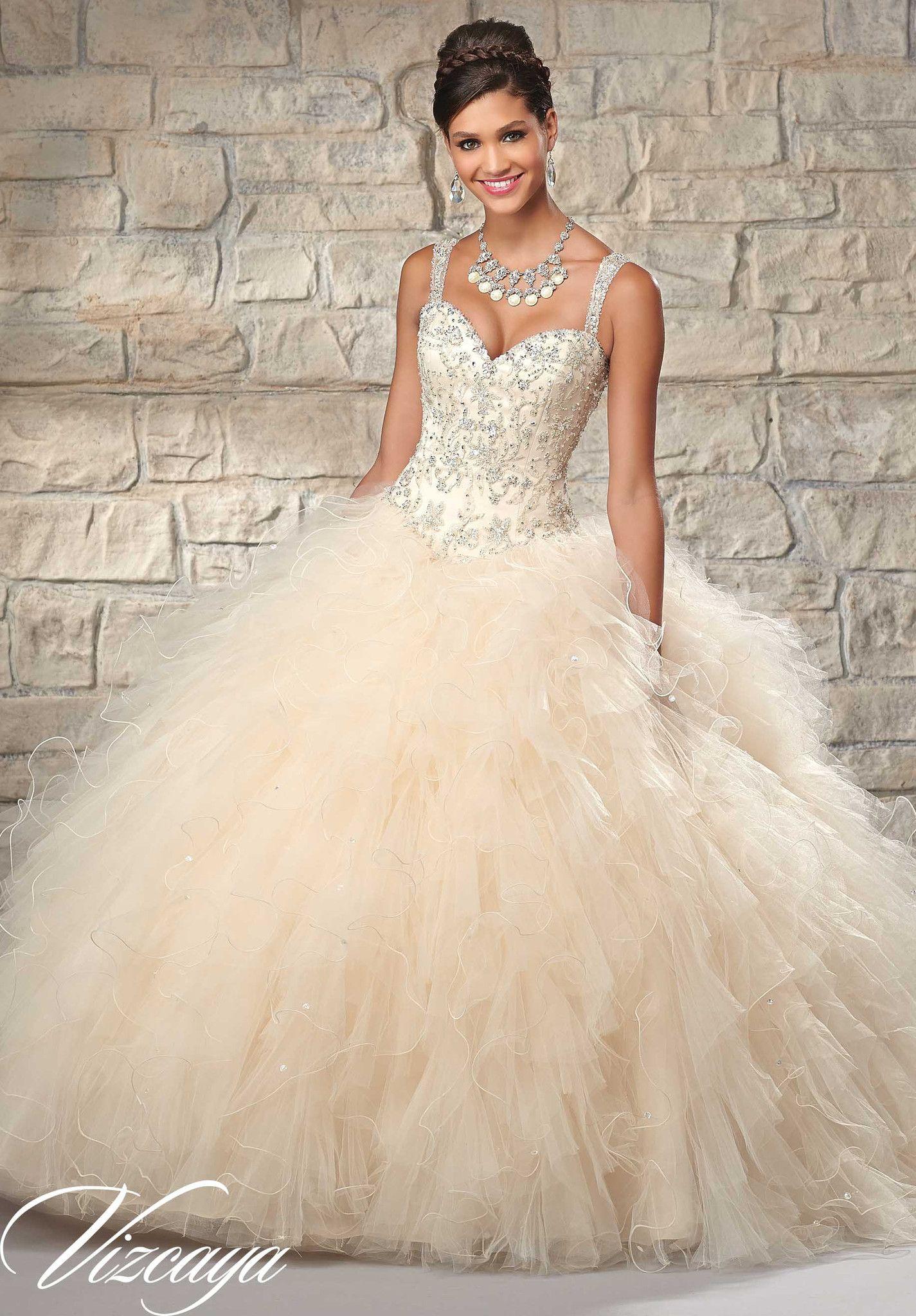Mori Lee Quinceanera Dress 89027 | Vestidos de novia de tul, 15 años ...