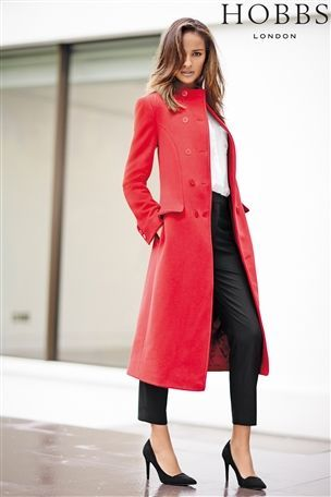 Buy Hobbs London Red Coat from the Next UK online shop #myawcolour ...