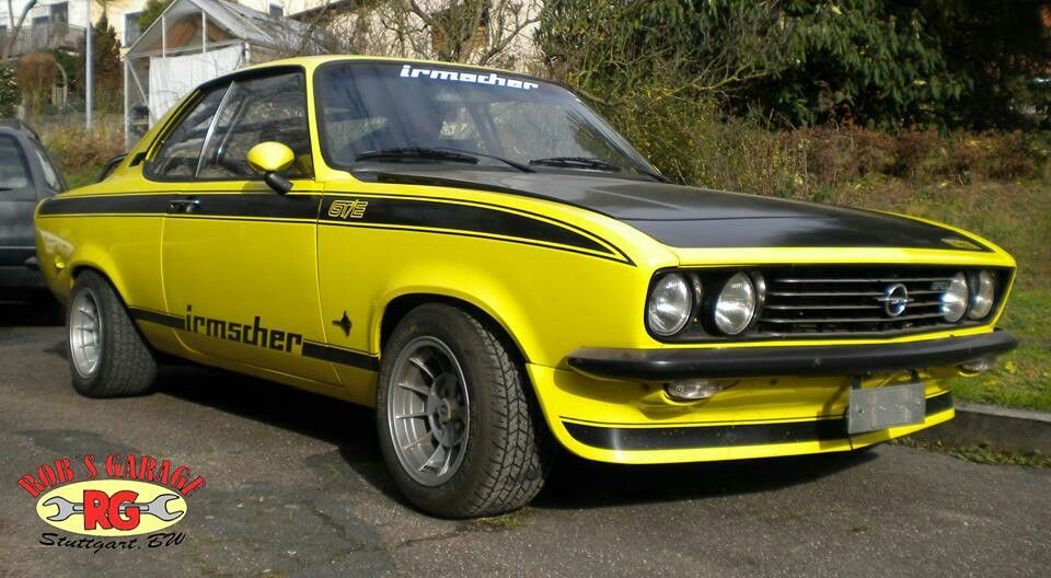 opel manta gte irmscher tuning oldschool car. Black Bedroom Furniture Sets. Home Design Ideas