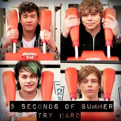 So Proud Of The Boys One Year Of Try Hard 1yearoftryhard 5sos