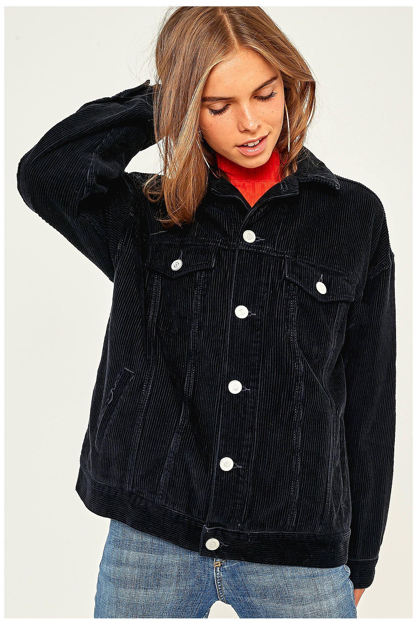 BDG Western Black Corduroy Jacket | Urban outfitters, Farben