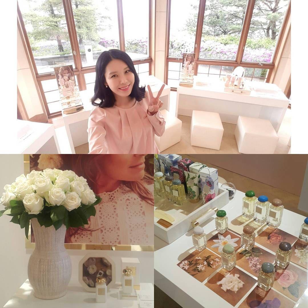 "47 aprecieri, 5 comentarii - 오지영 (@allieoh_kor) pe Instagram: ""AERIN Beauty  아시아 최초 한국에서 런칭  #@aerin#aerinbeauty#에어린#에어린뷰티#향수#런칭이벤트 #aerin"""