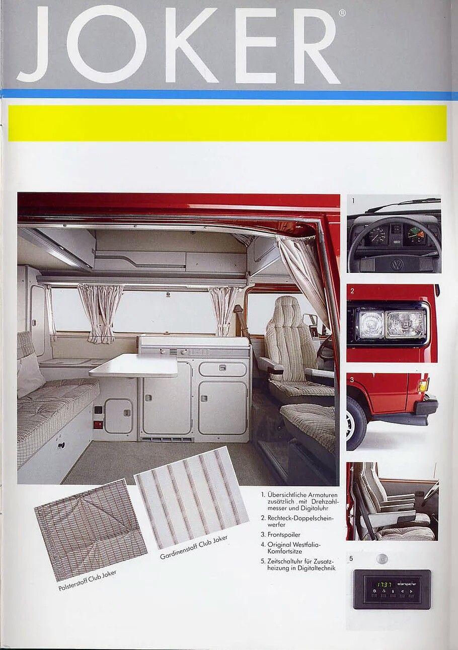 Volkswagen T3 California Joker Westfalia With Images Vw Camper Camper Van Camper