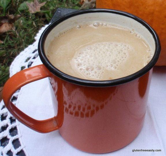 Velvety Pumpkin Spice Latte. A Kid-friendly Naturally