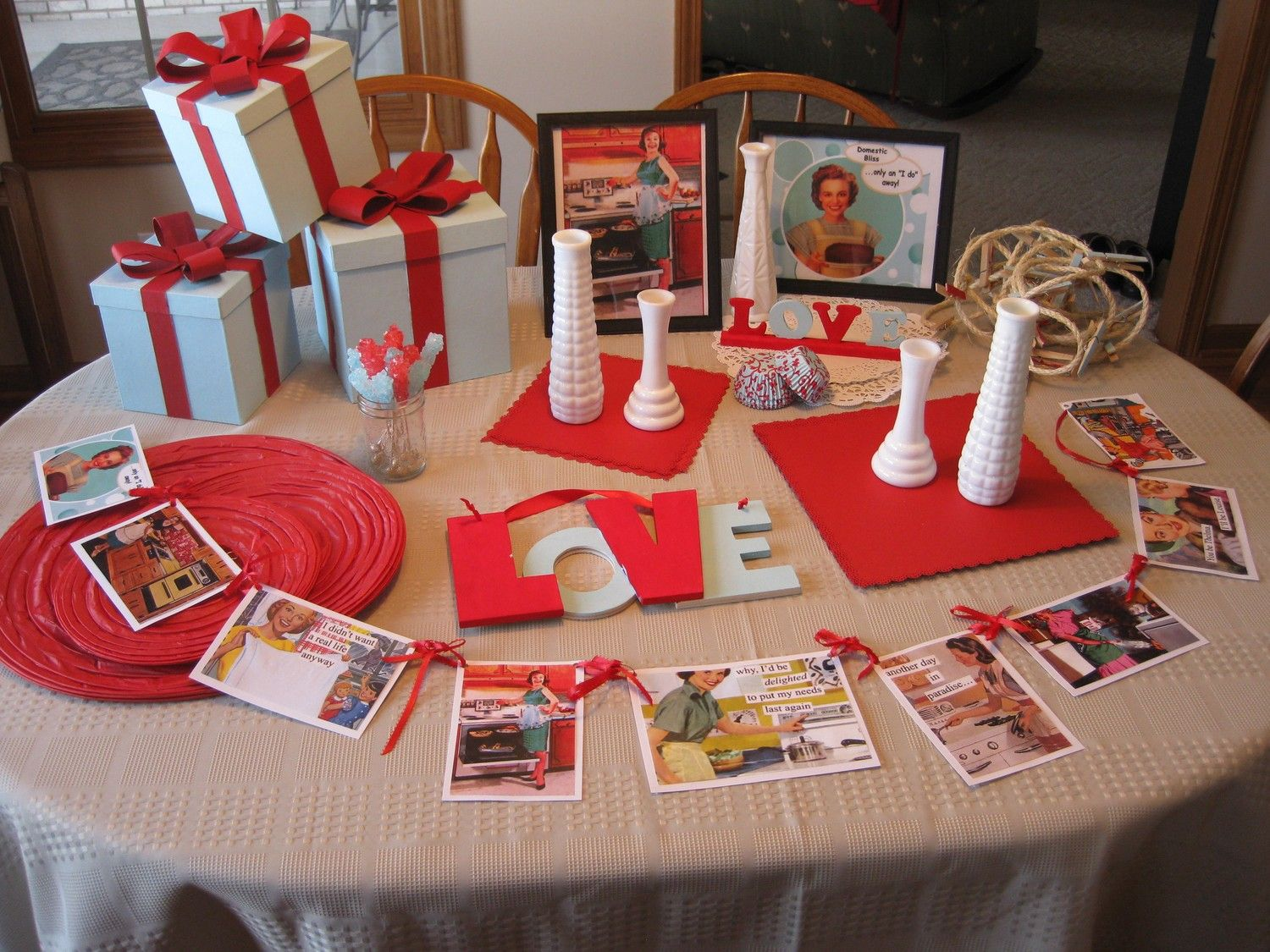 pinup bridal shower ideas