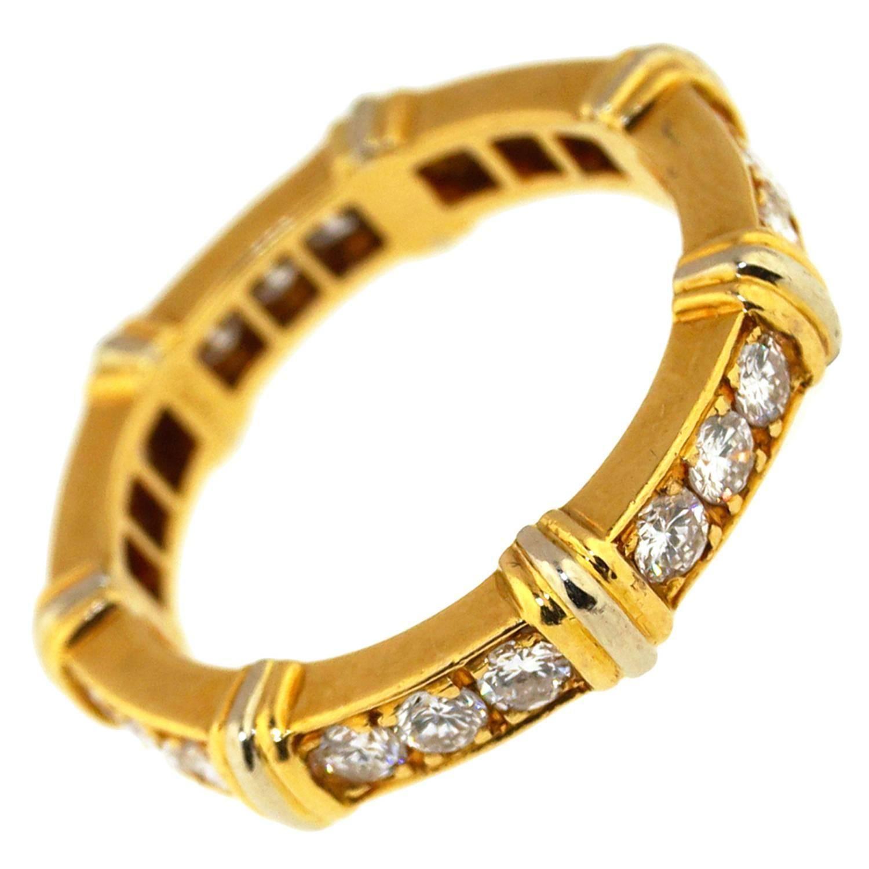 Vintage Cartier Diamond Band Ring Fashion rings, Diamond