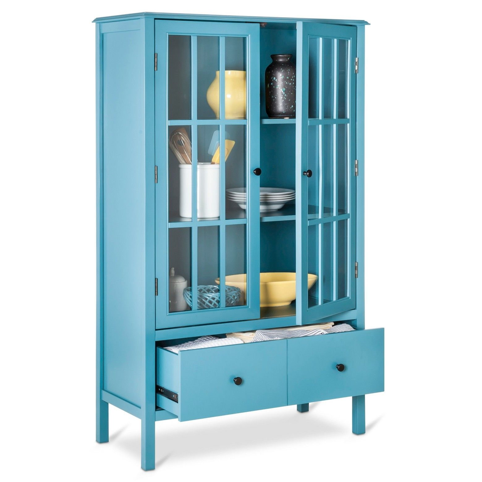 Windham Tall Cabinet With Drawer Threshold Target Storage Cabinet With Drawers Tall Cabinet Storage Tall Cabinet