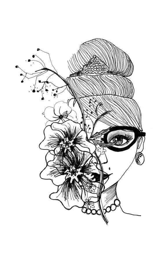 Colorear Dibujo Ilustracion Creatividad Robertitasuperstar Dibujos Ilustraciones Creatividad