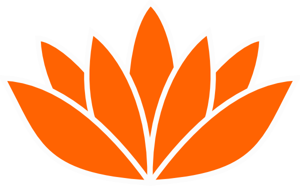 Lotus Flower Silhouette Vector Png Graphic Free Library Orange Lotus Flower 600x372 Png Download Lotus Flower Pictures Flower Silhouette Flower Pictures