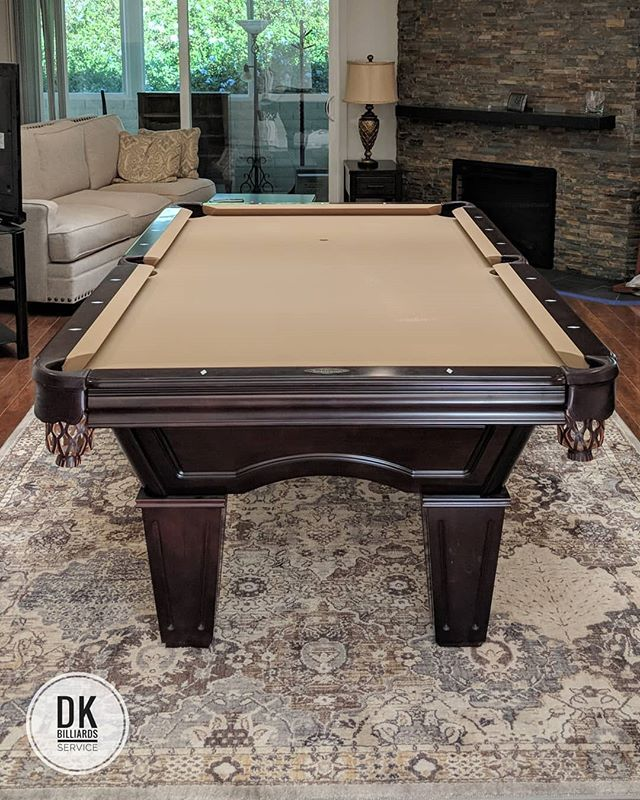 Done Installing This Foot Brunswick Pool Table In Laguna Woods - Brunswick 7 foot pool table