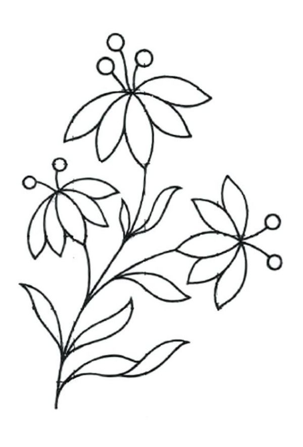 42 Simple And Easy Flower Drawings For Beginners Cartoon District Easy Flower Drawings Simple Flower Design Simple Flower Drawing