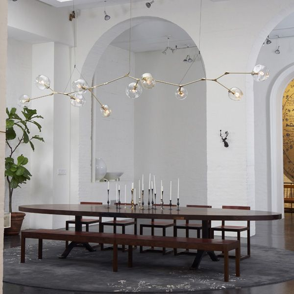 Mimosa Lane Lighting That Will Knock Your Socks Off Lindsey Adelman Interiors Contemporary Chandelier Electrical Plan And Lights