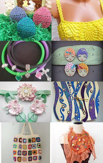 Easter gifts  by Inga Vasiljeva on Etsy--Pinned with TreasuryPin.com