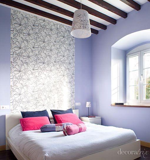 Ideas para decorar el cabecero de la cama decoracion practica pinterest cabecero la cama - Cabecero cama pintado ...