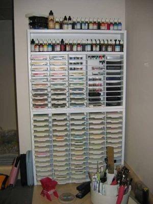Stamp Pad Storage By Melisa