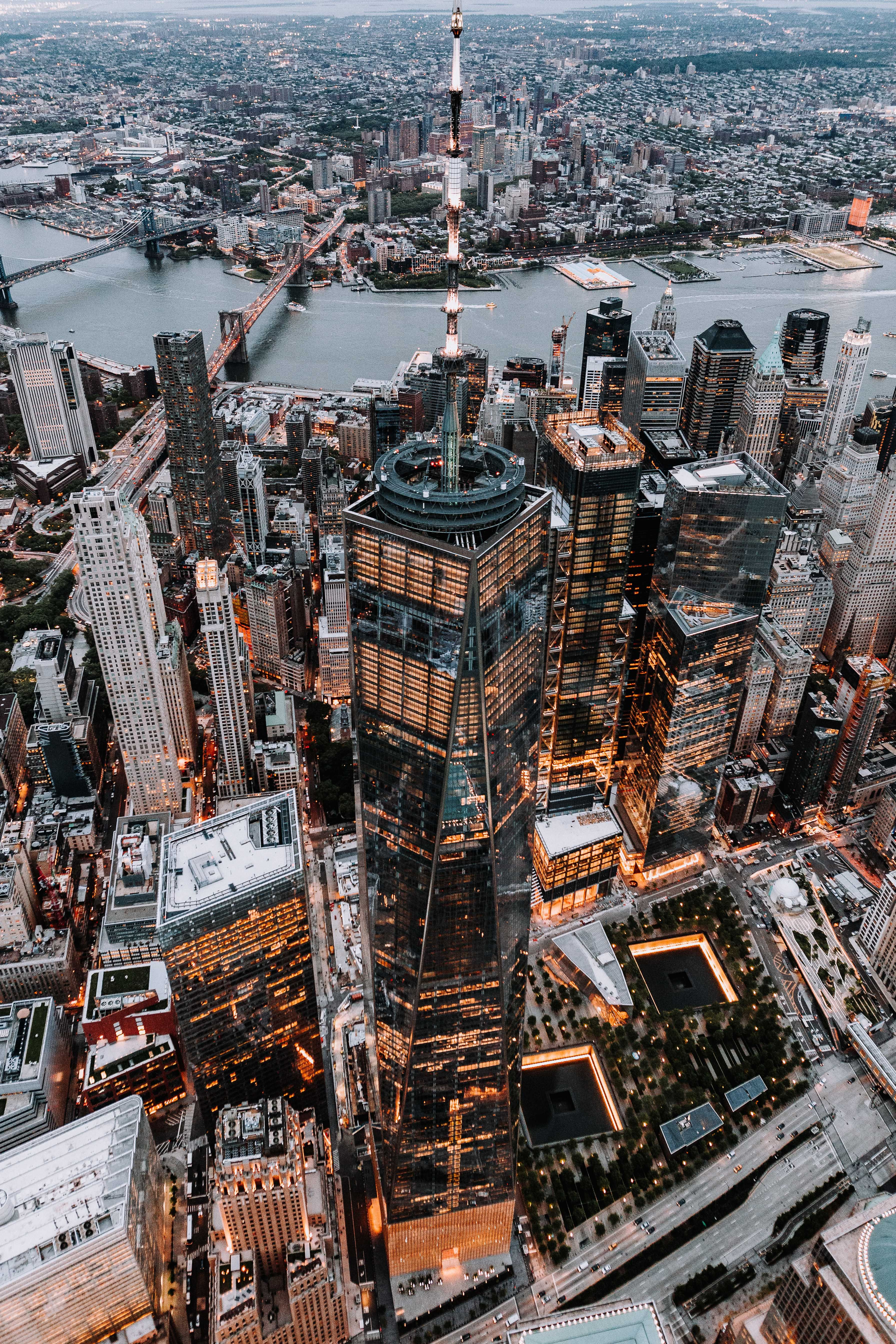 Brown And Black High Rise Building City Photography City Aesthetic City Wallpaper