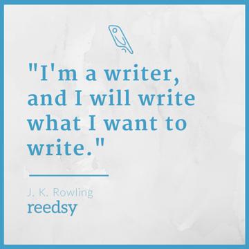 write whatever you want