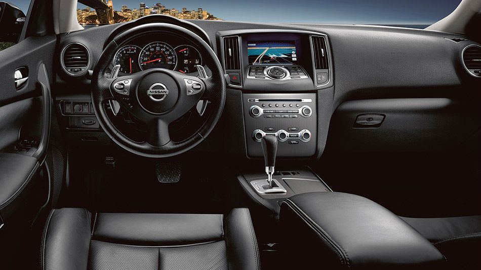 2014 Nissan Pathfinder Black Interior With Images Nissan