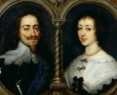 King and Queen Charles 1 and Henritta Marie