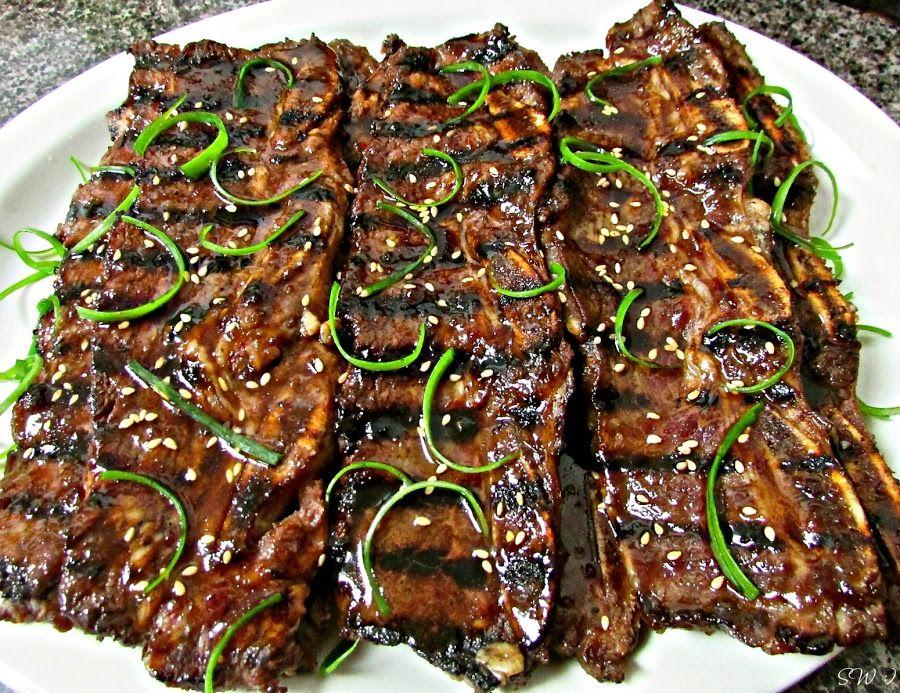 Sherri S Low Carb Kalbi Recipe Beef Short Ribs Korean Beef Short Ribs Short Ribs