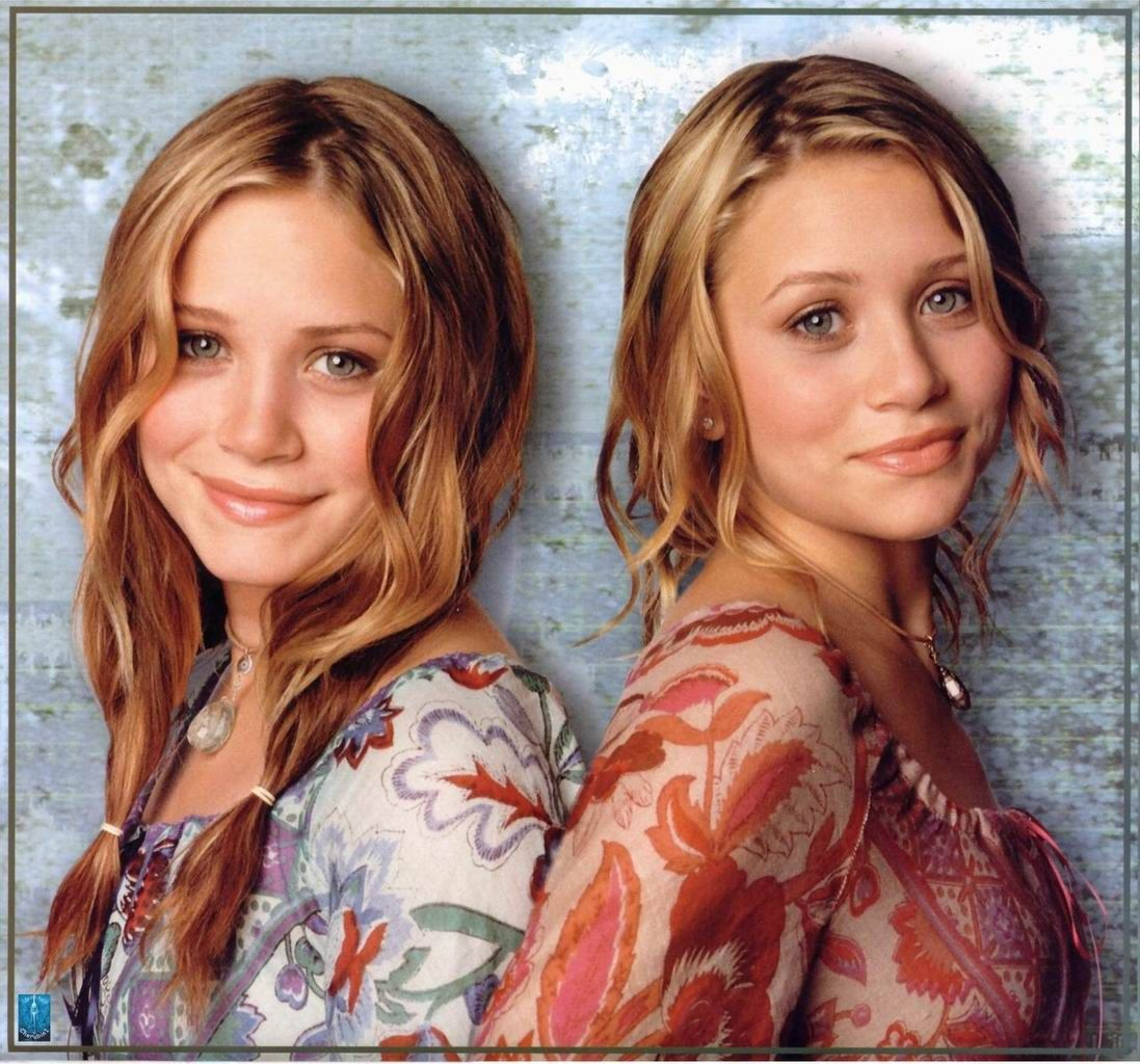 olson twins young Olsen twins