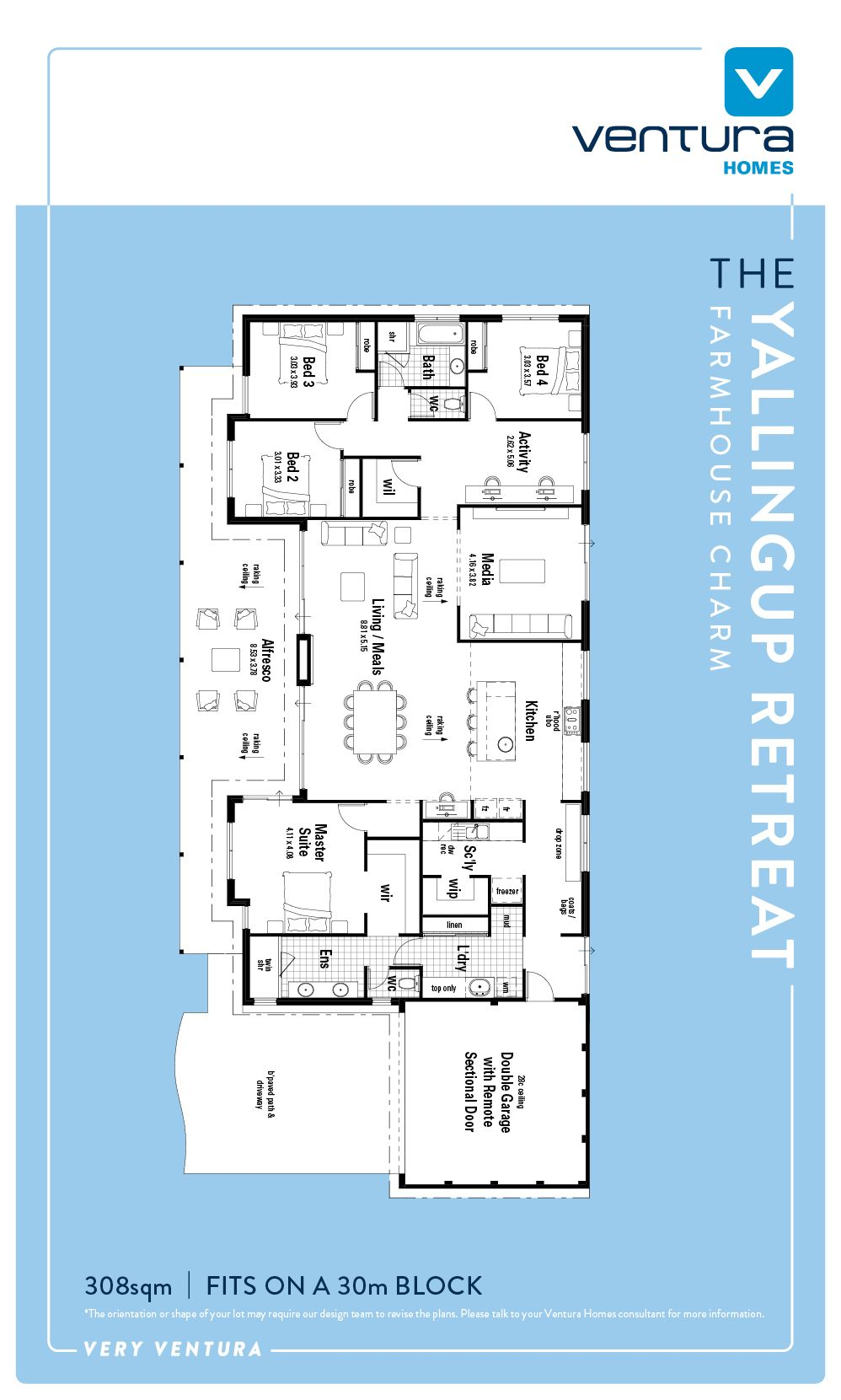 Discover The Yallingup Retreat A New Home Design By Ventura Homes - Western design homes