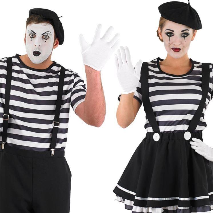 Abito Nero Fai Da Te Casa Costumi Di Carnevale Costume Da Mimo Costume Da Circo