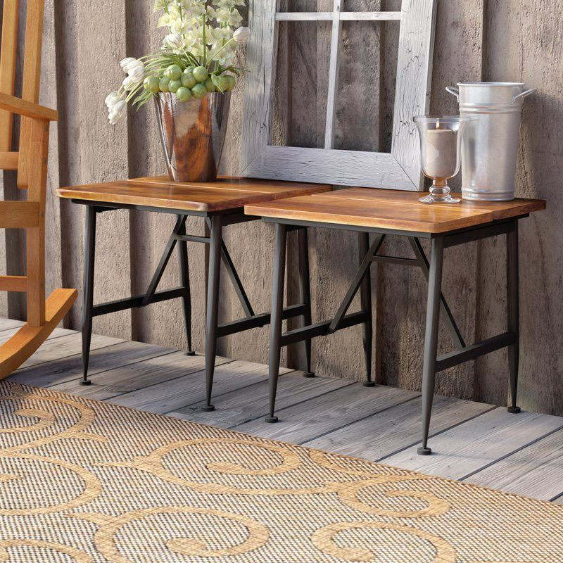 Frankston solid wood side table solid wood side table