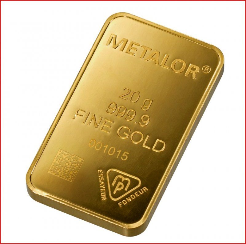 Metalor 20 Gram Gold Bar Buy Gold And Silver Gold Bullion Bars Gold Price