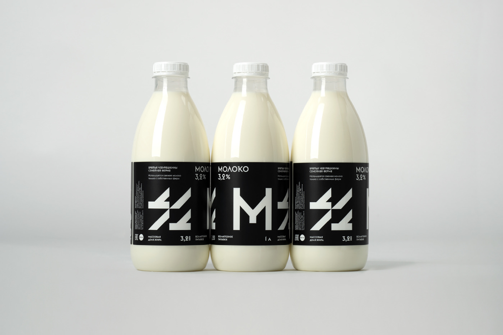 Lactosefree milk for Cheburashkini Brothers on Behance