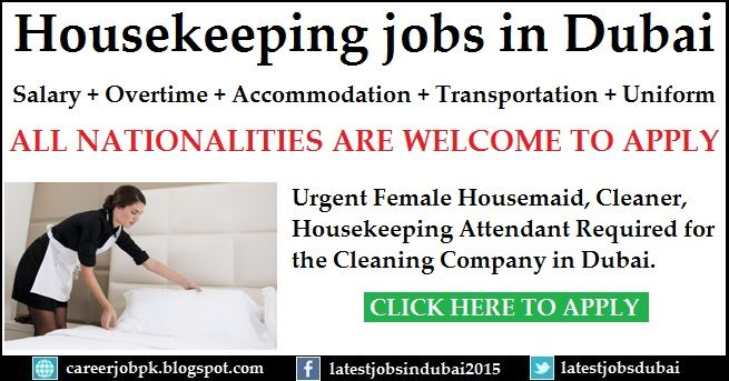 housekeeping jobs in dubai for a cleaning company urgent. Black Bedroom Furniture Sets. Home Design Ideas