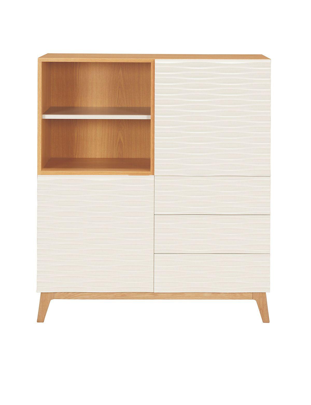 £699 - not sure if oak veneer would look cheap? Milton Storage Cabinet | M&S