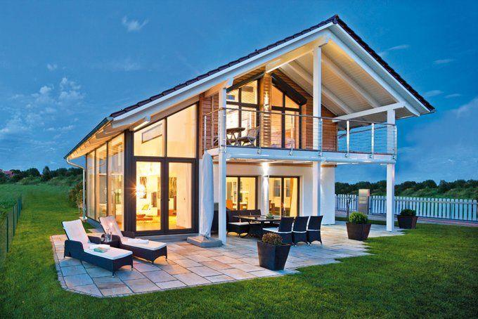 vitalhaus seehausen von regnauer moderne architektur verbunden mit intelligenter harmonischer raumaufteilung - Moderne Haus Architektur