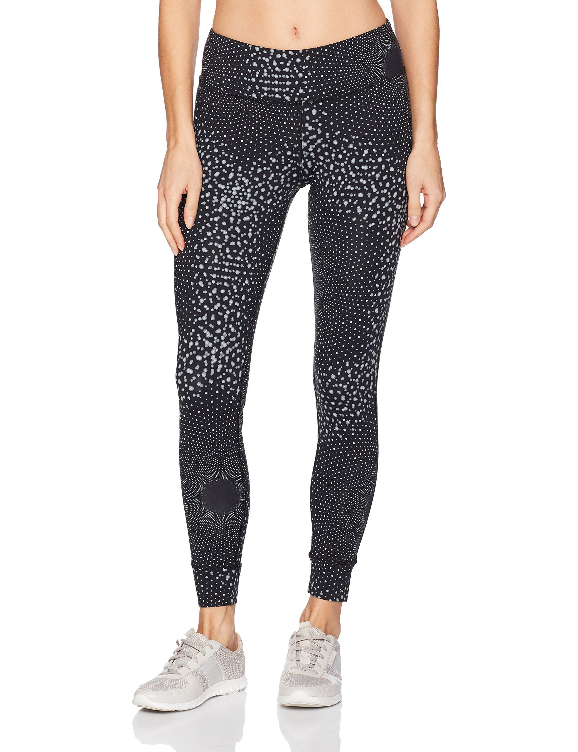d0f91820849e7 Reebok Womens Bold Tights Medium Black ** Learn more by visiting the image  link. (This is an affiliate link and I receive a commission for the sales)  # ...