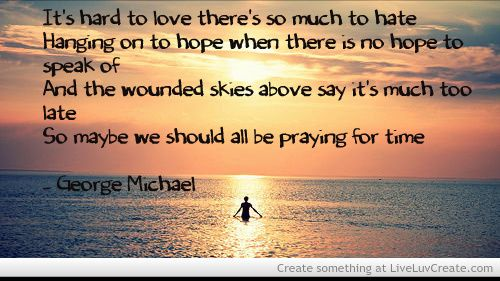 Words ...George Michael
