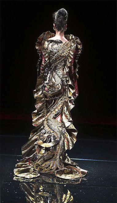 Guo Pei-Singapore Asian Couture