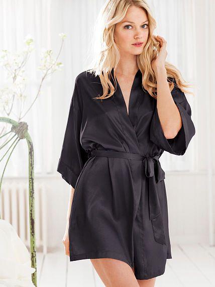 070cd34be3711 Kimono | Victoria's Secret | Kimono fashion, Robe, Satin kimono