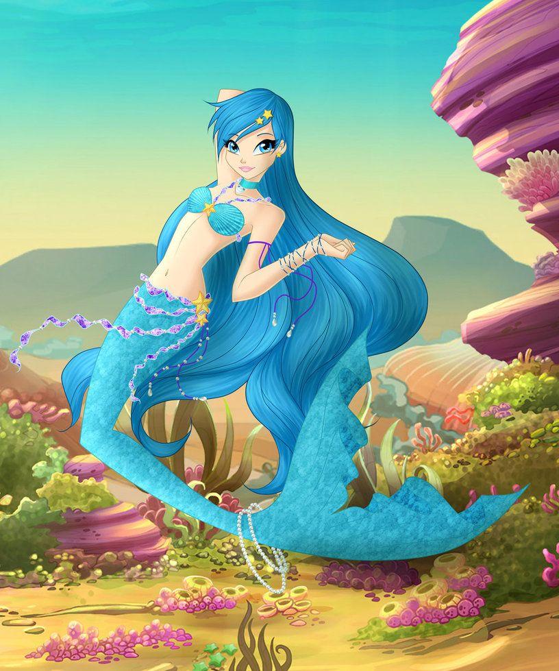 LP Mermaid Hanon by Bloom2 on DeviantArt Anime mermaid