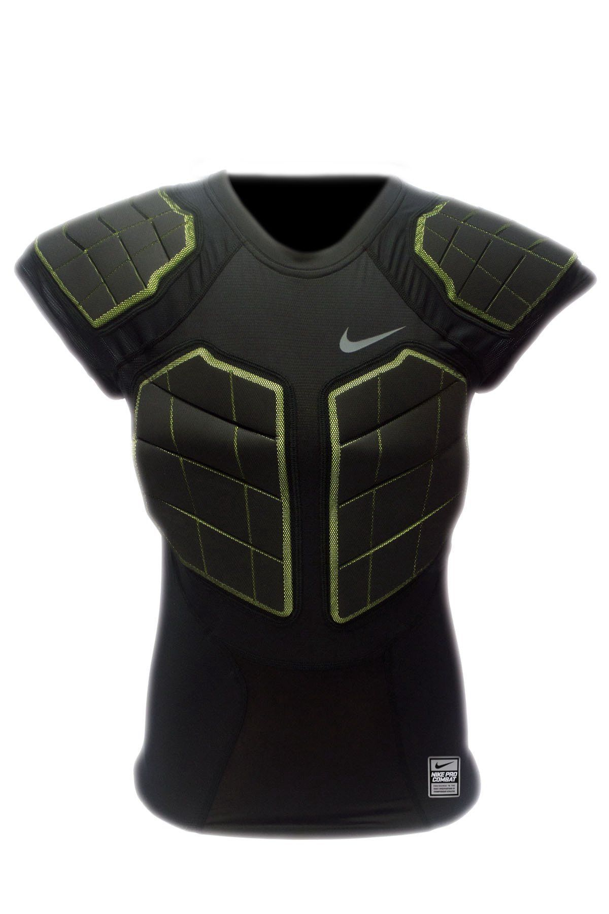 Nike Pro Combat Hyperstrong Men S 4 Pad Compression Shirt Padded Compression Shirt Compression Shirt Mens Athletic Wear