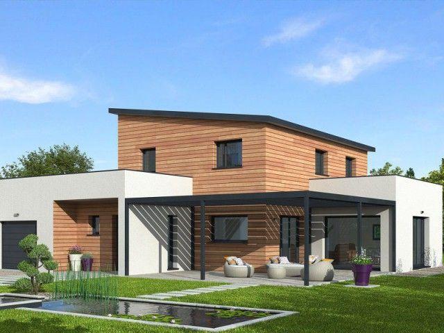 Une maison bois qui produit plus qu\u0027elle ne consomme Construction