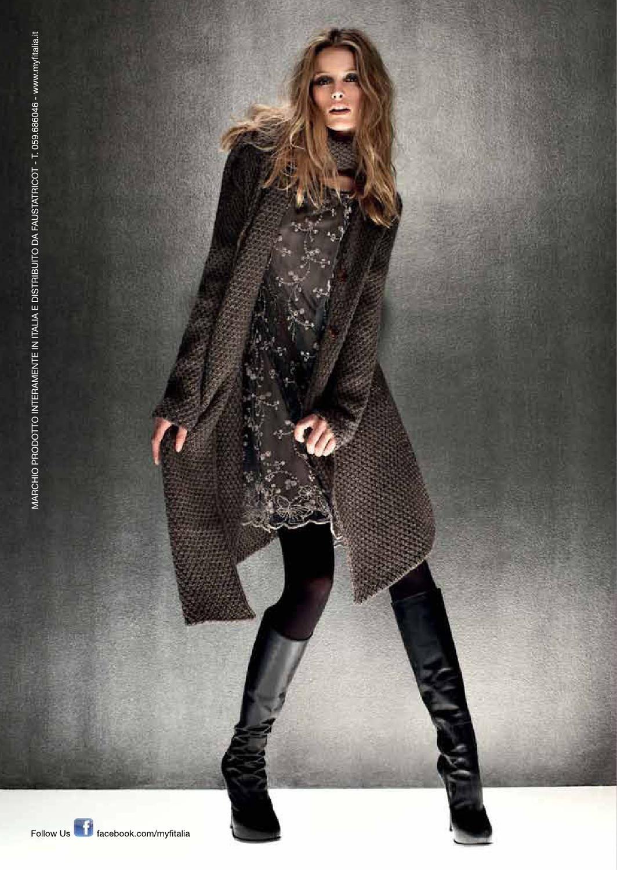 sito affidabile 3dadc 9457f Maglieria Italiana - 174 | Boots | Tendenze moda, Maglieria ...