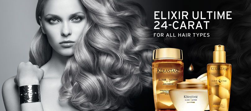 Kerastase Elixir Ultime 24-Carat Regime - Available in the PV Spa Boutique