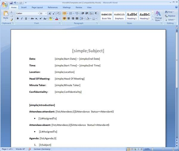 meeting minutes template Manager for Microsoft SharePoint incl - example of meeting minutes template