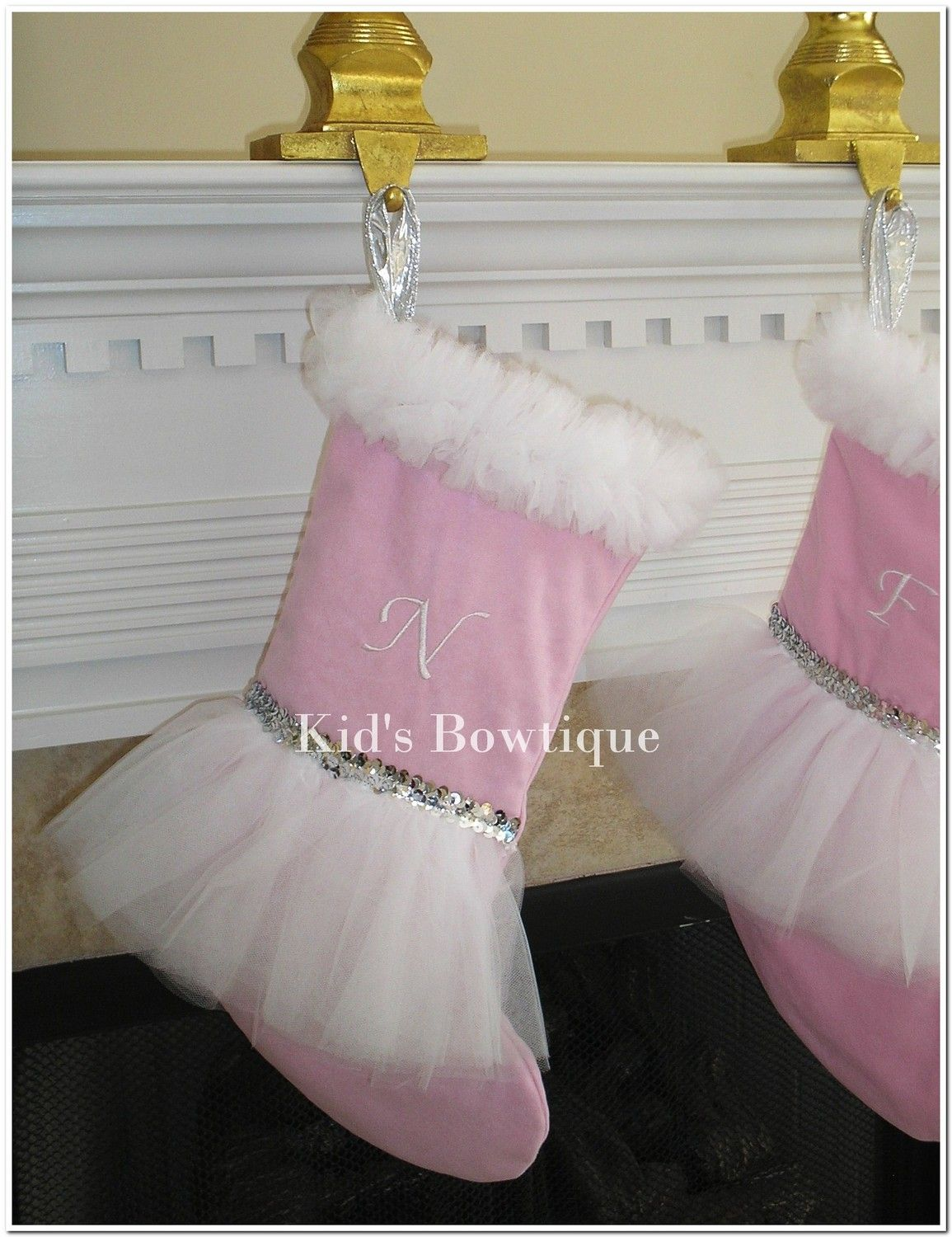 Personalized Christmas Stocking for Christmas w/ by kidsbowtique ...
