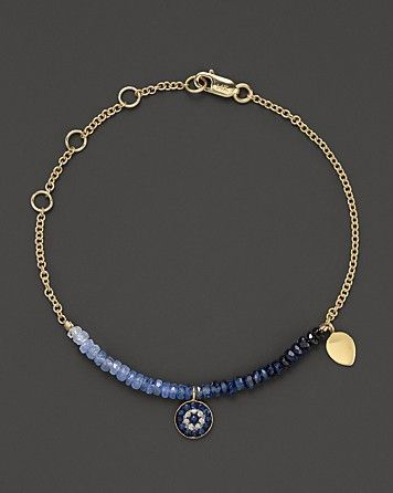Meira t diamond sapphire and 14k yellow gold evil eye bracelet meira t diamond sapphire and 14k yellow gold evil eye bracelet bloomingdales aloadofball Gallery