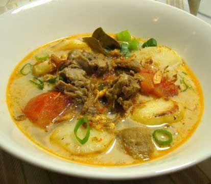 Resep Soto Daging Sapi Santan Ketupat Daging Sapi Resep Masakan Resep Masakan Malaysia