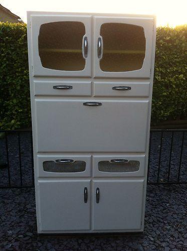 Vintage Retro 1950 S Kitchen Freestanding Larder Cupboard Ebay