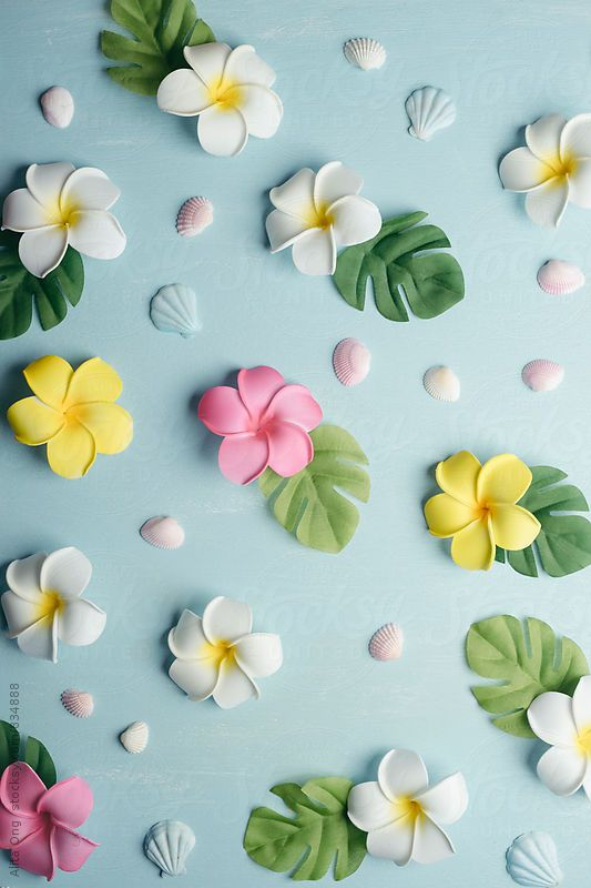 Tropical background by Alita Ong